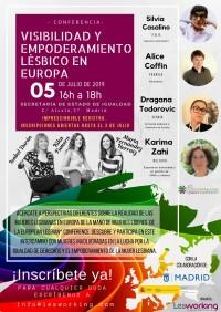 Visibilidad y empoderamiento lésbico en Europa. LesWorking