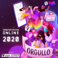 Manifestación Estatal Online del Orgullo LGTBI 2020