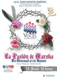 Coro de voces LGTB de Madrid. La pasión de Marsha, del Stonewall al rio Hudson