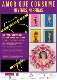 """Exposición multidisciplinar """"Amor que consume: Ni Venus, Ni Reinas"""" de Esther Pérez de Eulate"""