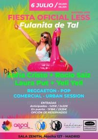 Fiesta Oficial Less Fulanita de Tal