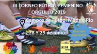 III Torneo de fútbol femenino. Fulanita de Tal