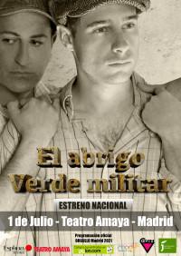 EL ABRIGO VERDE MILITAR
