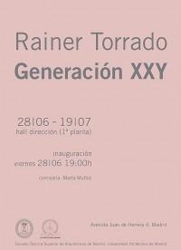 RAINER TORRADO. GENERACIÓN XXY